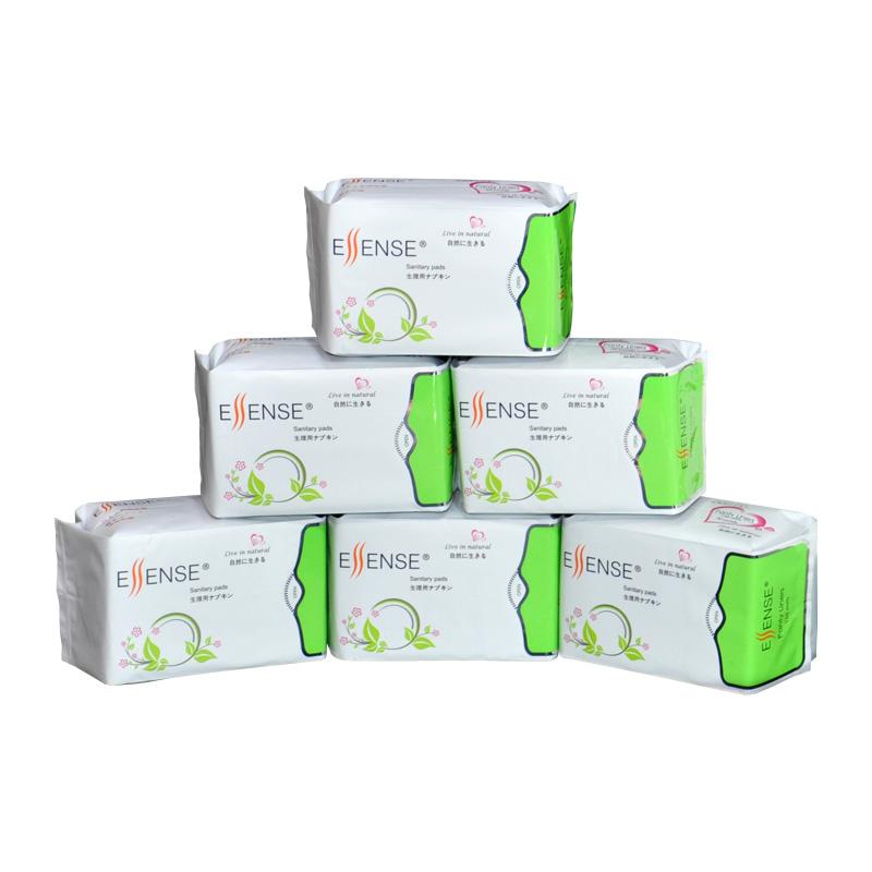 ESSENSE 3 in 1 multi-functional sanitary napkins - 155mm Panty Liners 5+1 packs